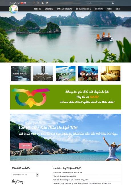 Thiết kế web cơ quan, tổ chức nhà nước