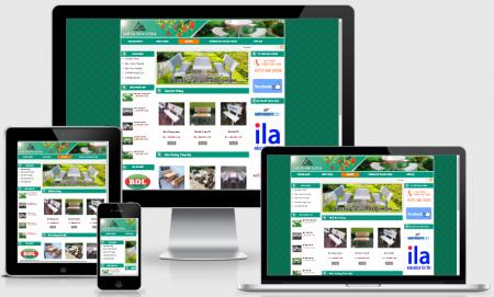Thiết kế web bán ghế đá chuyên nghiệp, giá rẻ