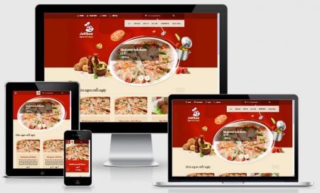 Thiết Kế Website Nhà Hàng Đồ Ăn Nhanh