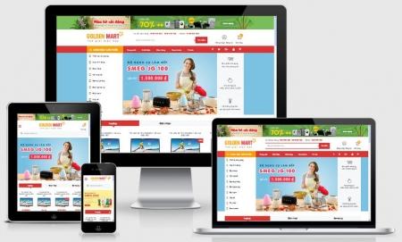 Website bán hàng điện máy