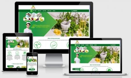 Website công ty dược phẩm