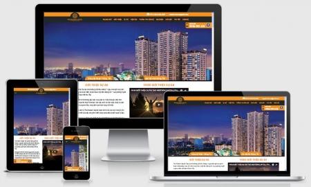 Website bất động sản dự án