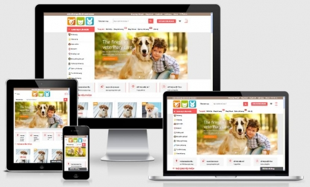 Website bán thú cưng