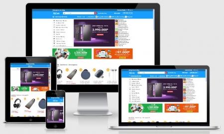 Website thương mại điện tử online