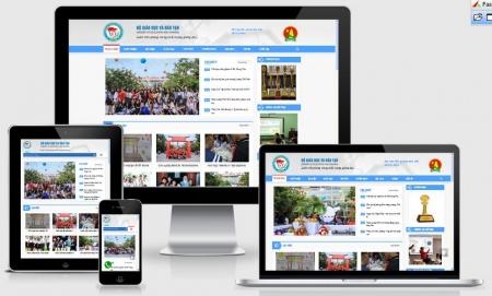 Website trường học phổ thông