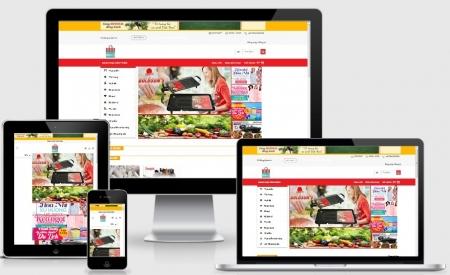 Thiết kế web bán - order hàng