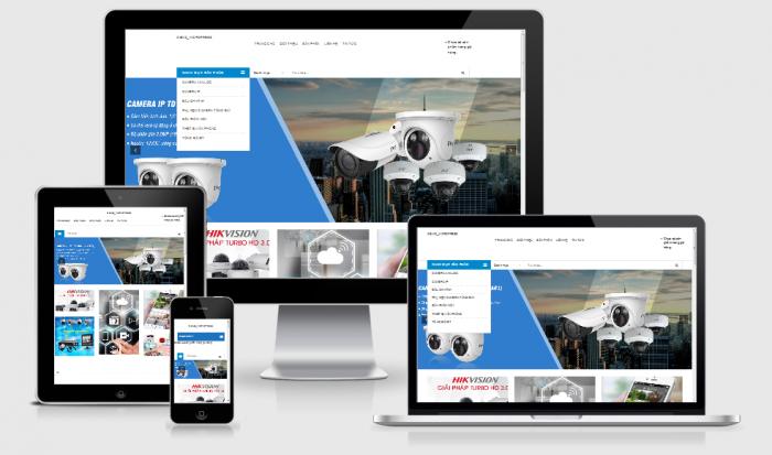 Thiết kế website bán camera uy tín chuẩn seo