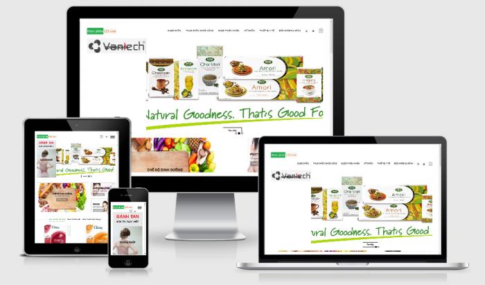 Thiết kế website bán thuốc chuyên nghiệp
