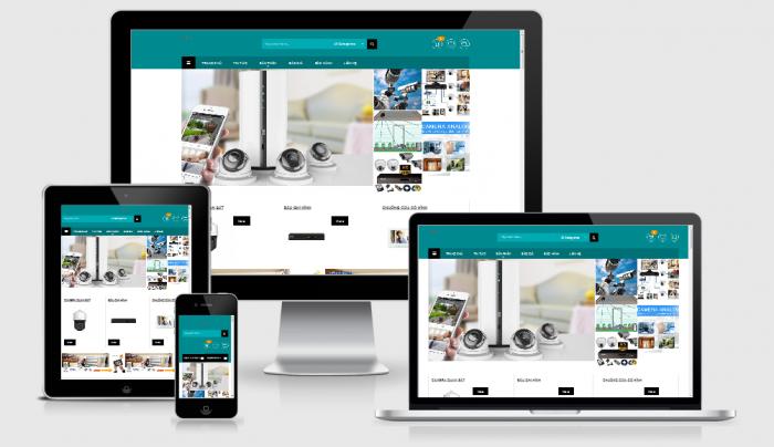 Thiết kế mẫu web camera