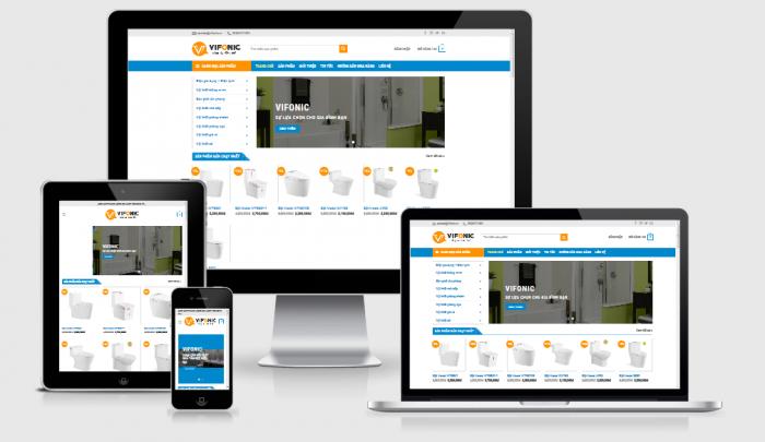 Thiết kế website bán nội thất giá rẻ