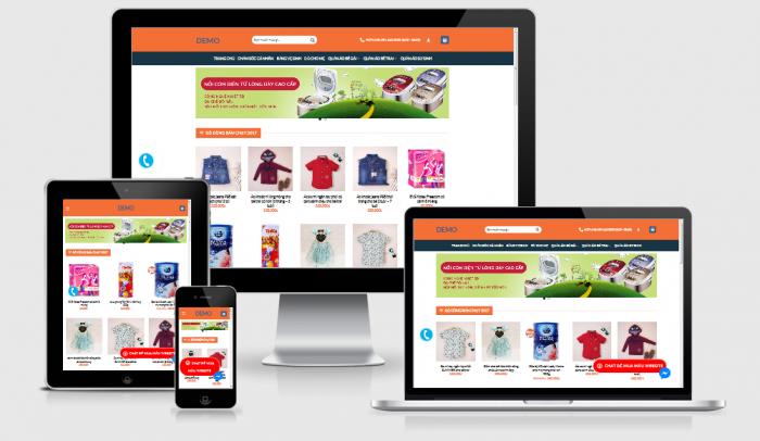 Thiết kế website thời trang đẹp