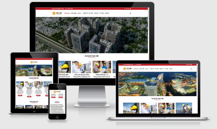 Thiết kế website dự án bất động sản giá rẻ
