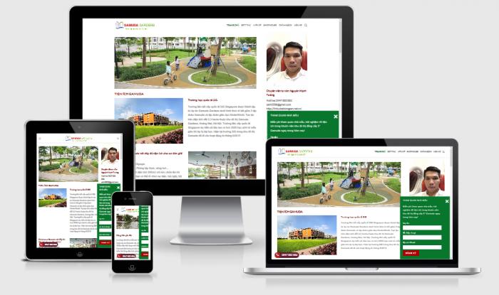 Thiết kế website bất động sản rao vặt uy tín