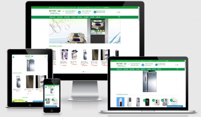 Website bán hàng máy lọc nước chuẩn SEO