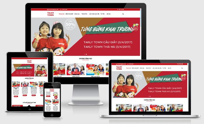 Website giới thiệu dịch vụ công ty